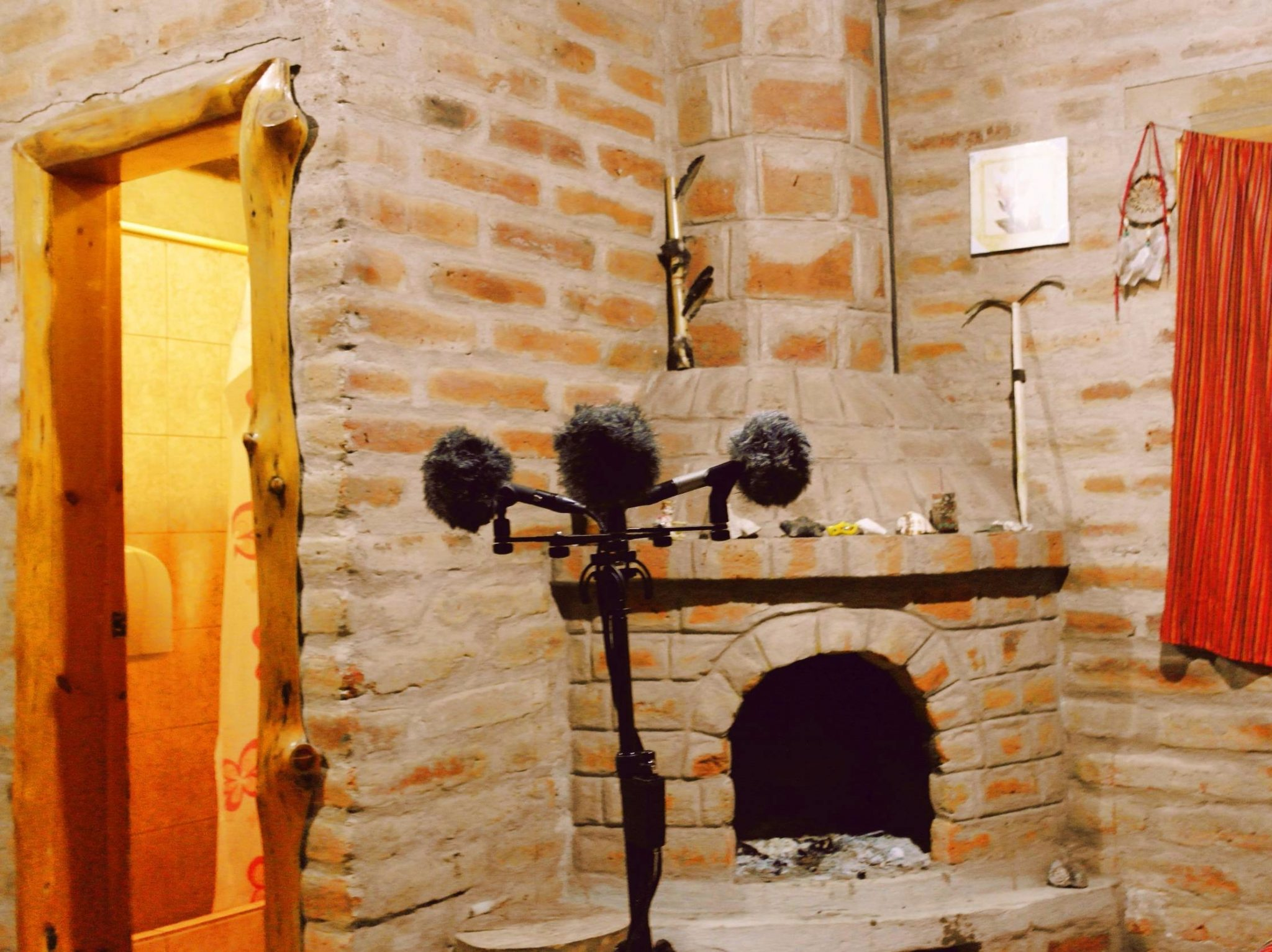 Roomtones in traditional quechua house