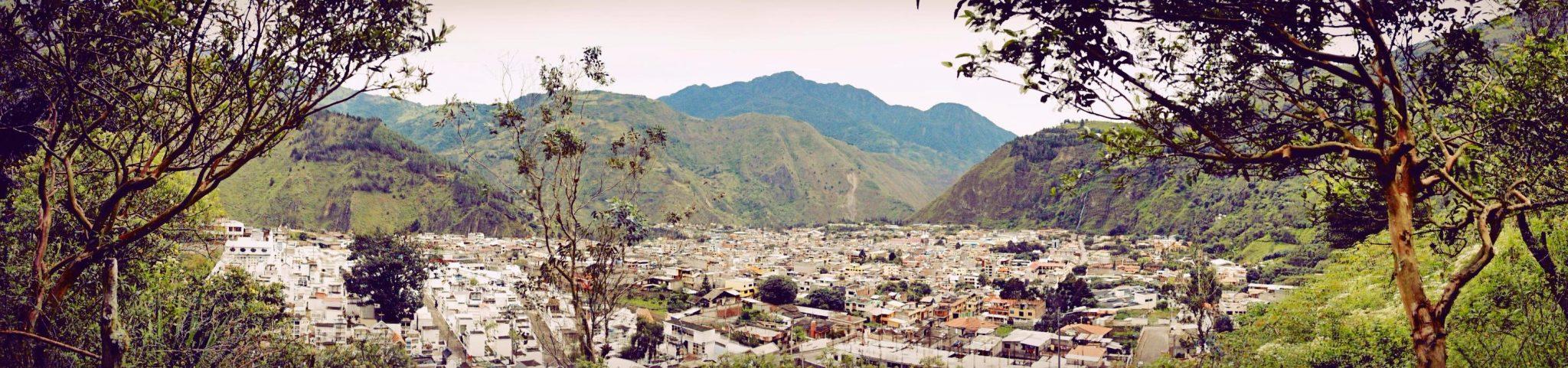 Banos Ecuador Panorama
