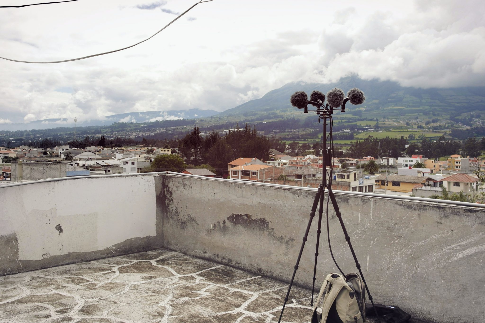 Rooftop recording