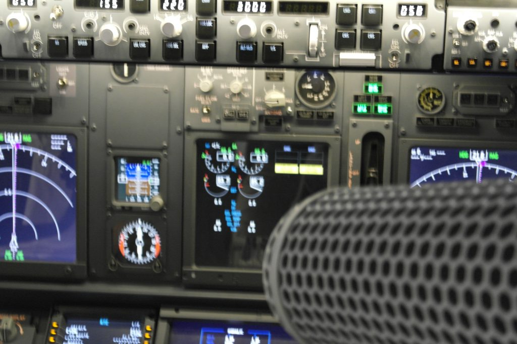 airplane control board