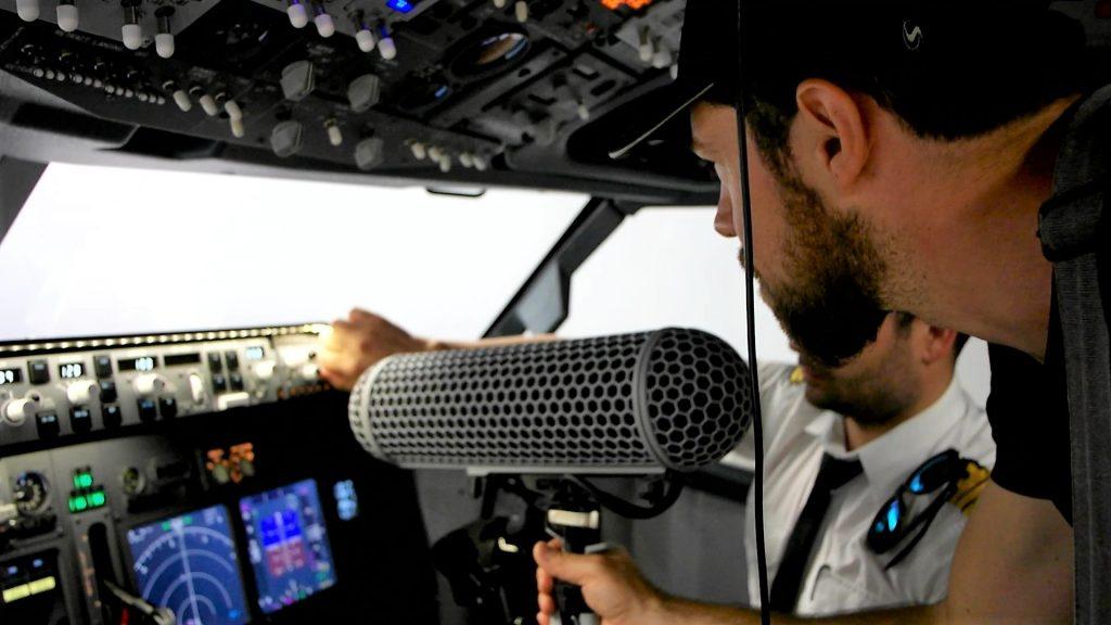 recording cockpit
