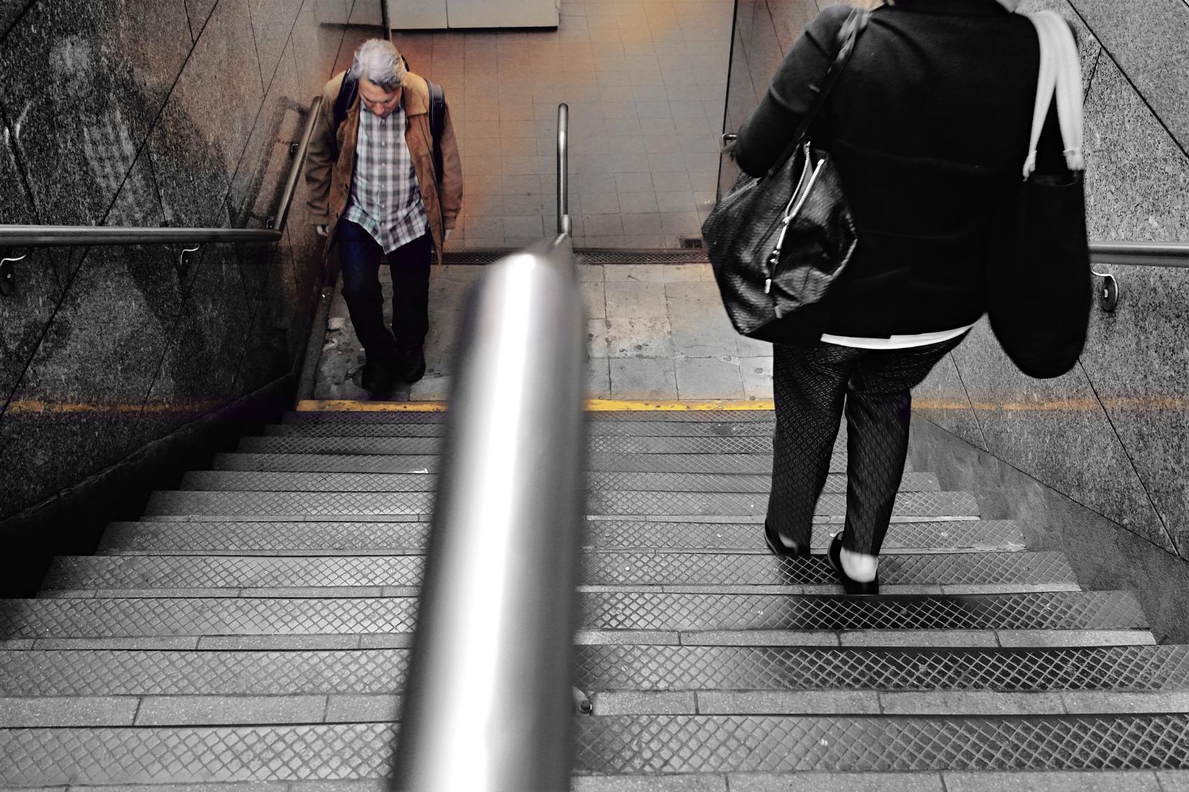 Wall Street Metro exit