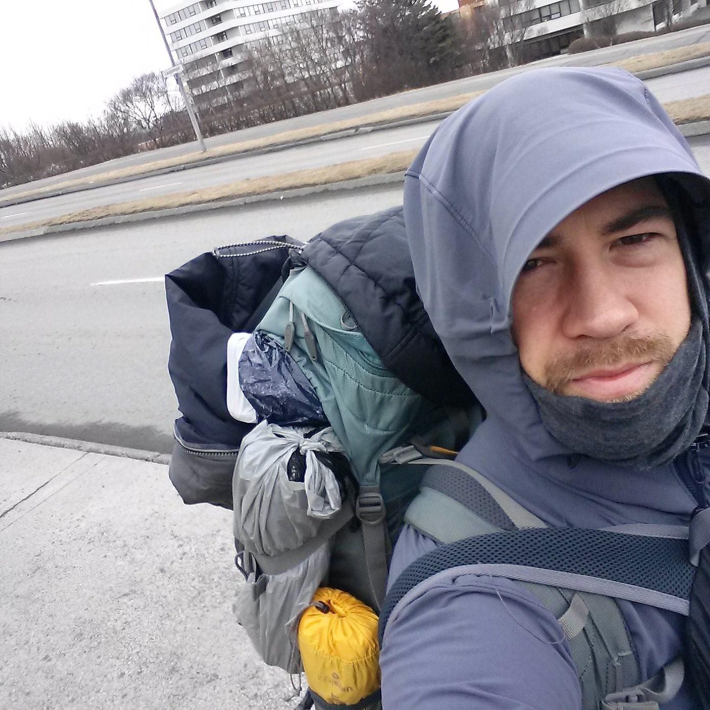 backpack globetrotter recording