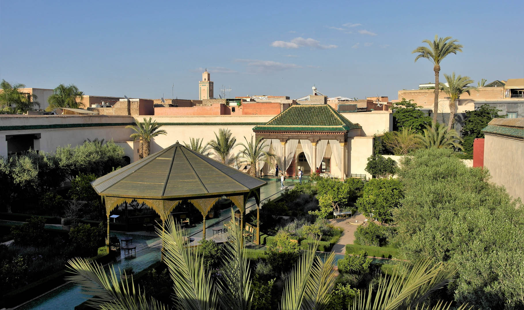 Jardin secret de Marrakesh