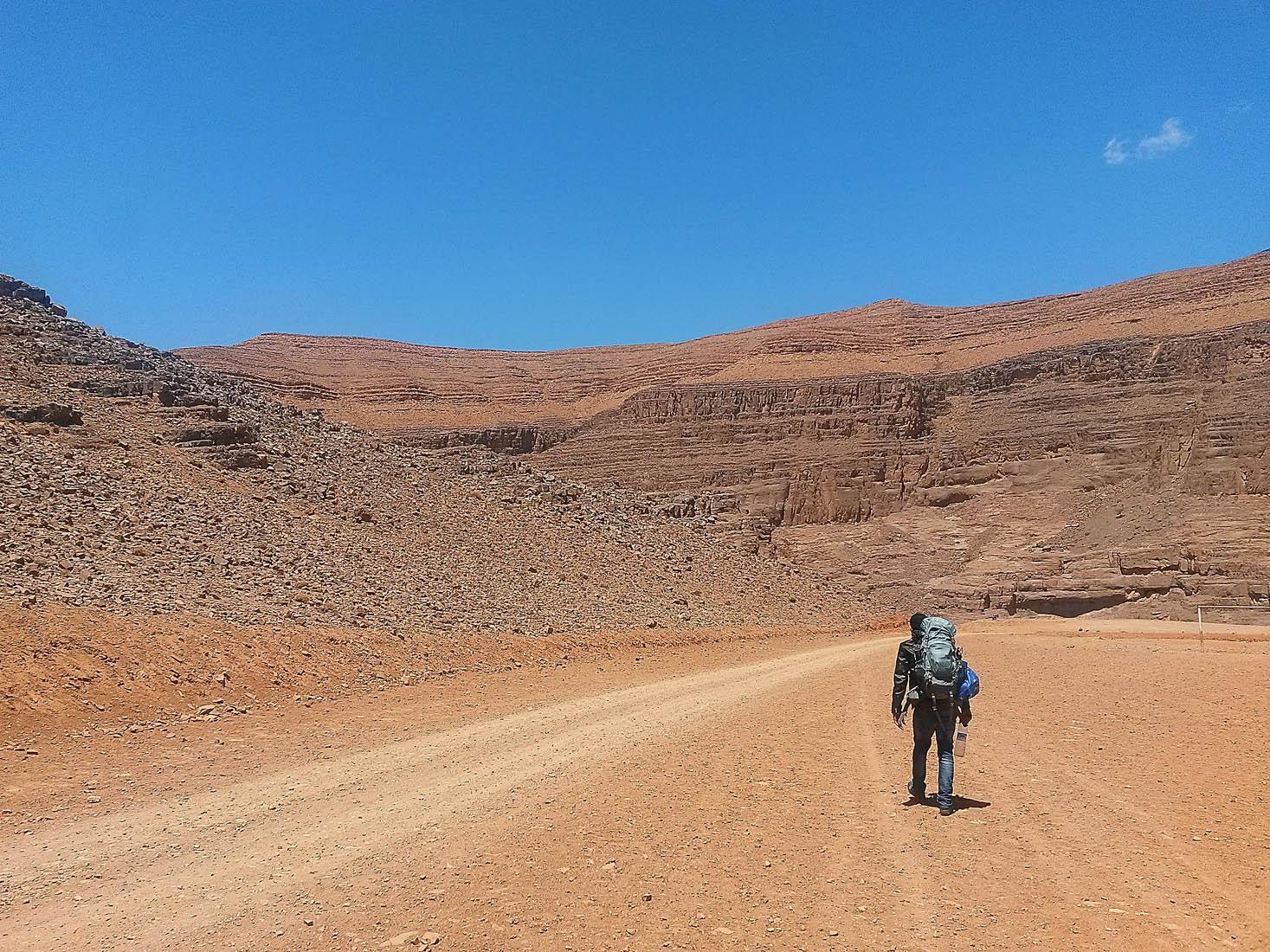 walking desert