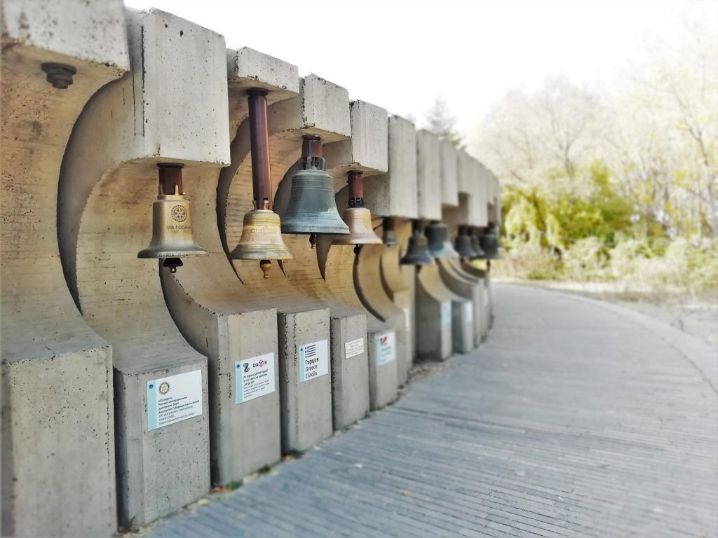 Bells from different countries all around the world.