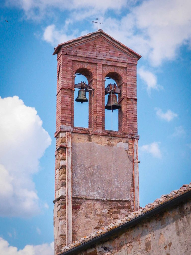 A church tower bell